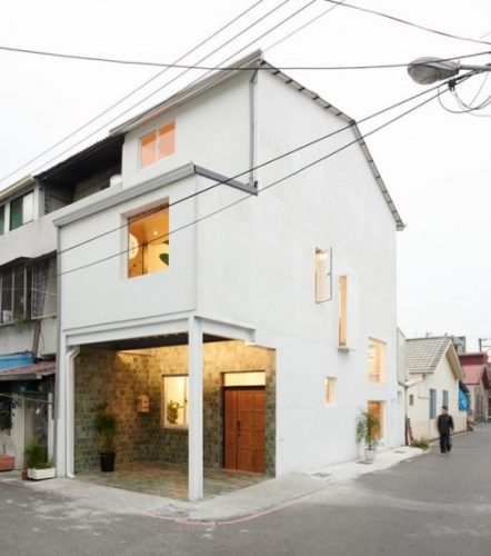 10 mẫu nhà phố gác lửng hiện đại vạn người mê